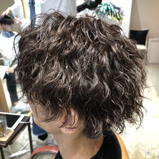 メンズパーマ実例 \u2013 frei(フライ)|大阪 梅田の美容室